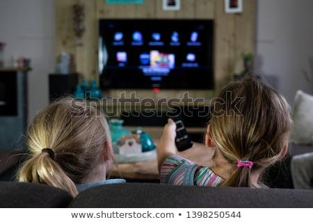 vacaciones · televisión · forma · tv · vela - foto stock © olena