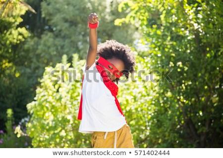 wspaniały · europejski · bohater · pływające · wysoki · kciuk - zdjęcia stock © is2