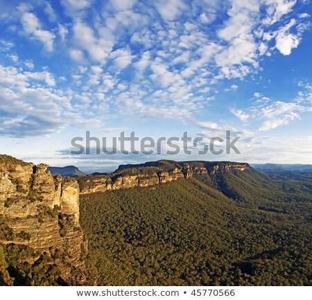 azul · montanhas · Austrália · Sydney · profundo - foto stock © lovleah