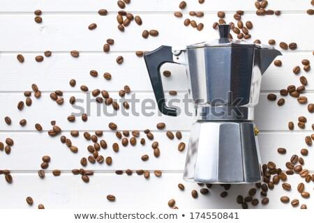 コーヒー · 古い - ストックフォト © jirkaejc