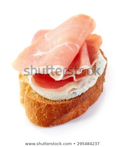 Et somun tost ahşap gıda Stok fotoğraf © Digifoodstock