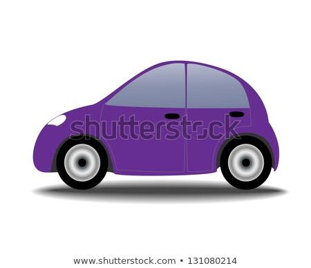 Small purple car vector illustration. Stock photo © RAStudio