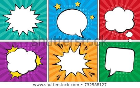 Cartoon groene ballon geïsoleerd witte partij Stockfoto © hittoon