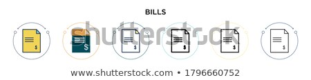 seo icons line set 2 Stock photo © Genestro