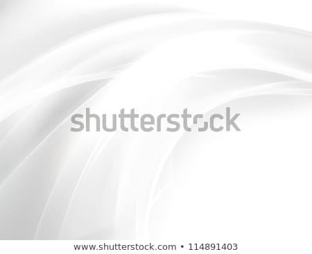 Abstract bianco grigio curva linee wallpaper Foto d'archivio © SArts