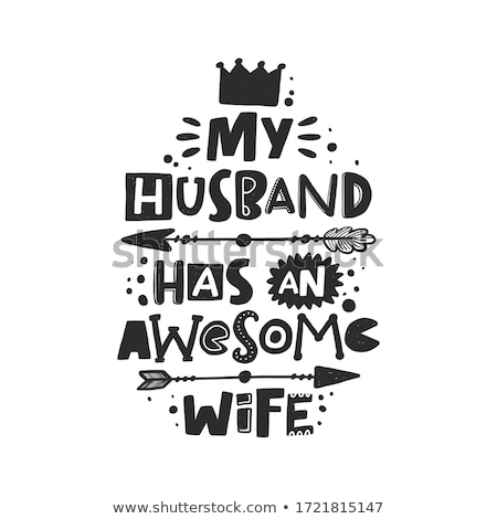 Funny quote about marriage Stock photo © balasoiu