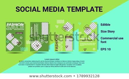 Mail comentario anunciante establecer medios de comunicación social Foto stock © robuart