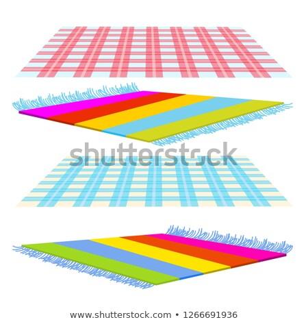kare · tablo · yeşil · masa · örtüsü · yemek · masası · bacak - stok fotoğraf © pikepicture