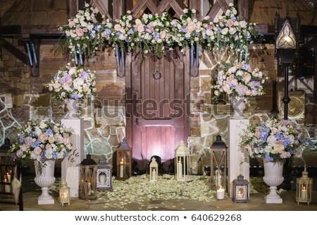 Bella cerimonia di nozze altro cielo Foto d'archivio © ruslanshramko