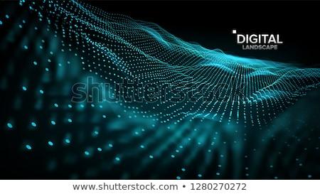 風景 ベクトル 未来的な グラフィック 救済 構造 ストックフォト © pikepicture