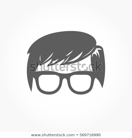 science geek man avatar people icon stock photo © krisdog