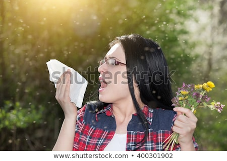Allergy to Flowers Blooming, Allergic Reaction Stock photo © robuart