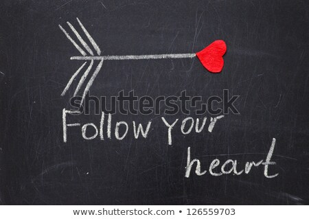 Sevmek çift ifade kalp örnek adam Stok fotoğraf © colematt