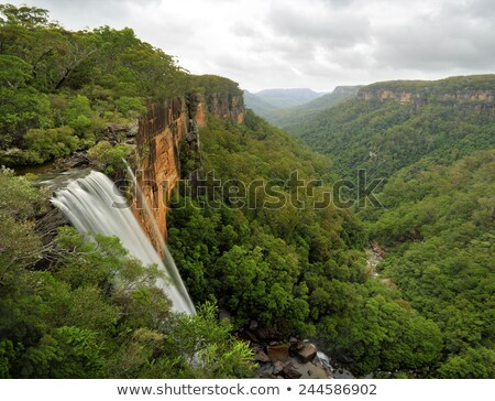 Waterfall in Southern Highlands Australia Stock photo © lovleah