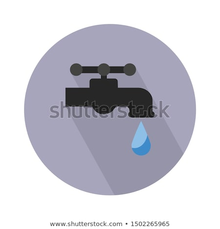 Stock photo: vector set of faucet