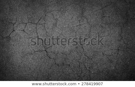 グレー アスファルト テクスチャ 壁 抽象的な 石 ストックフォト © dolgachov