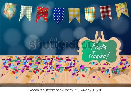 tradicional · celebração · confete · dança · cor · carnaval - foto stock © sarts