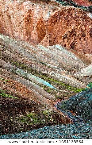 Colored mountaineering pattern Stock photo © netkov1