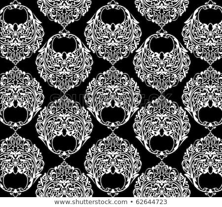 fehér · csík · függöny · skicc · illusztráció · használt - stock fotó © Blue_daemon