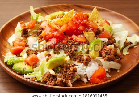 Tacos with fillings  Stock photo © Alex9500