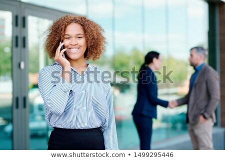 iş · iki · genç · arkadaşları - stok fotoğraf © pressmaster