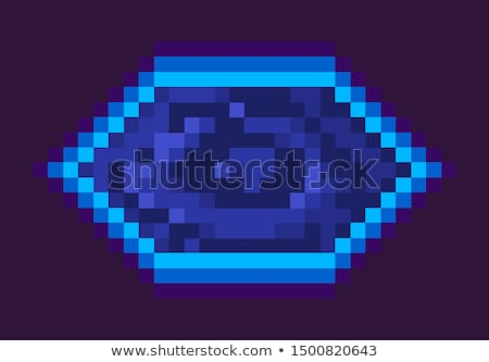 Pixel játék porta trófea űr tárgy Stock fotó © robuart