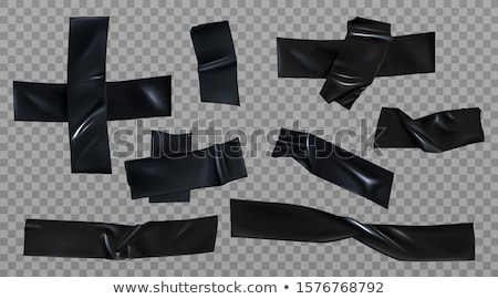 Black insulating tape 3D Stock photo © djmilic