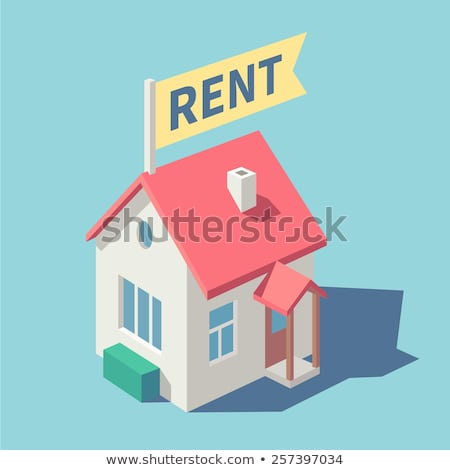 House for rent concept vector illustration. Stock photo © RAStudio