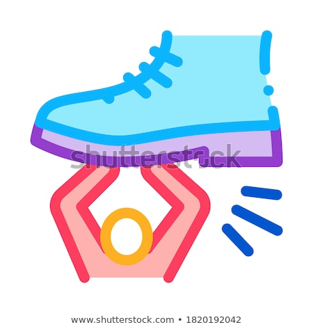 human suppression icon vector outline illustration Stock photo © pikepicture