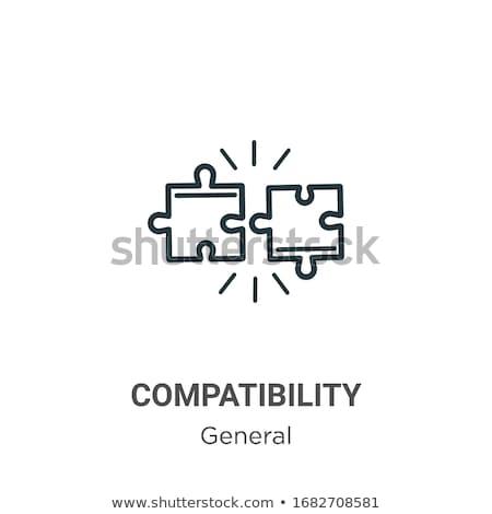 一般的な ソリューション アイコン ベクトル 実例 ストックフォト © pikepicture