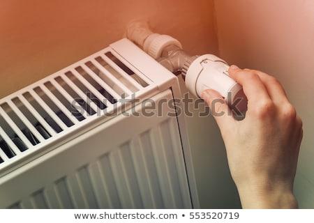 Radiateur chaleur maison température chaleur Photo stock © AndreyPopov