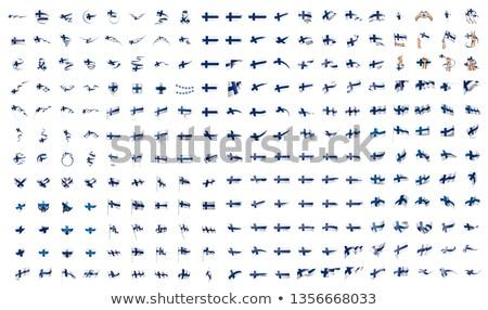 Nagy gyűjtemény vektor zászlók európai szövetség Stock fotó © butenkow
