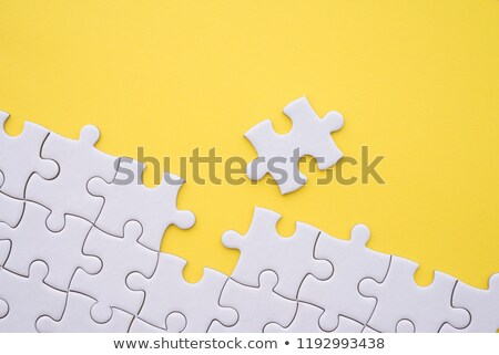 yellow jigsaw stock photo © cidepix