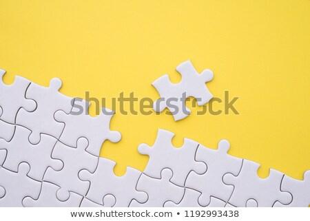 Geel glanzend geïsoleerd witte abstract Stockfoto © cidepix