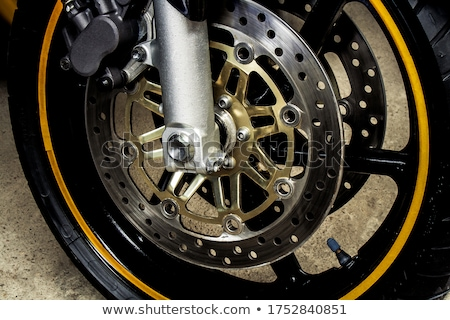 motorcycle braking system stock photo © gant
