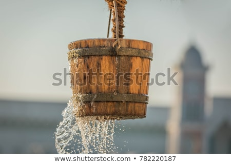 bucket in well Stock photo © smithore