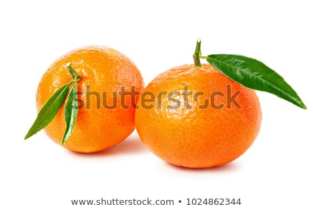 Group of tangerines Stock photo © Supertrooper