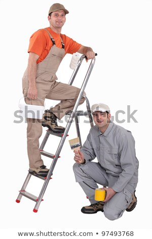 Two decorators collaborating on project Stock photo © photography33