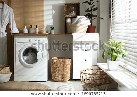 basket on floor Stock photo © garyfox45116
