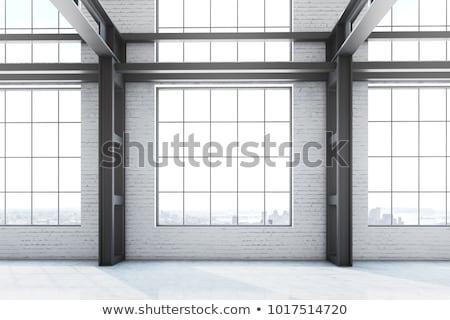 minta · öreg · törött · ipar · ablak · harmonikus - stock fotó © sirylok