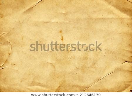 öreg klasszikus papír hatás szín sötét Stock fotó © latent