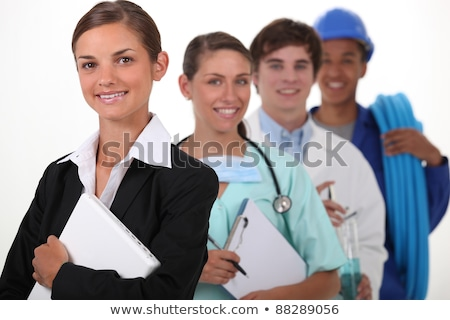 Four workers with different professions Stock photo © photography33
