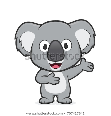 Koala cartoon  Stock photo © dagadu