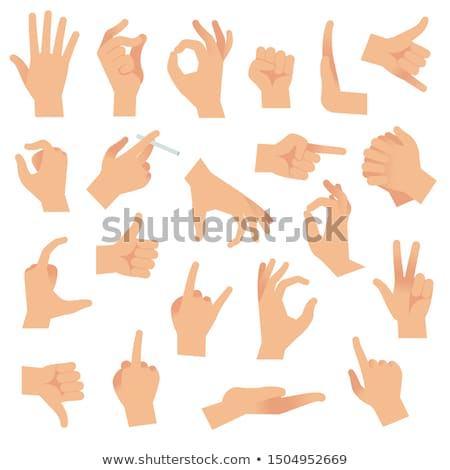 Pinch gesture Stock photo © photography33