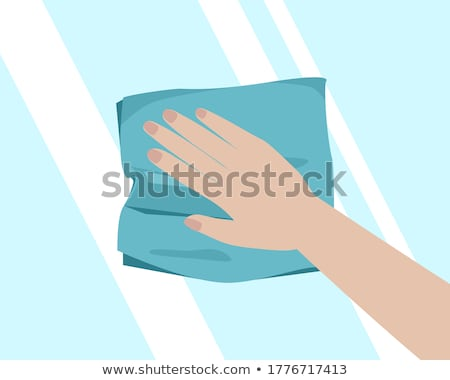 esponja · pano · celulose · isolado · branco · abstrato - foto stock © taigi