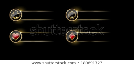 gioco · d'azzardo · illustrazione · casino · elementi · grunge · sfondo - foto d'archivio © articular