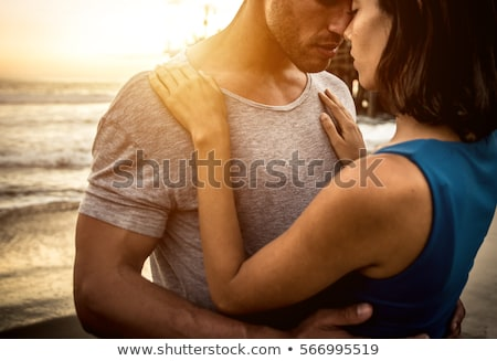 embracing couple stock photo © photography33