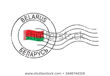 メール ベラルーシ 画像 スタンプ 地図 フラグ ストックフォト © perysty
