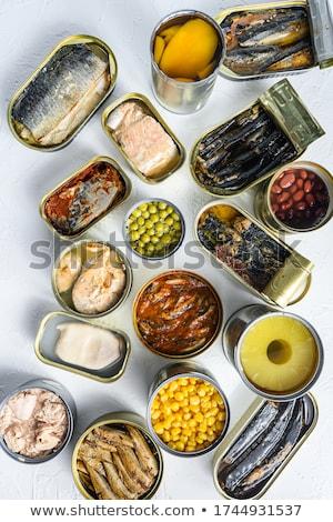 canned green peas stock photo © jirkaejc