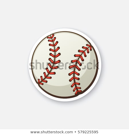 baseball ball vector image stock photo © perysty